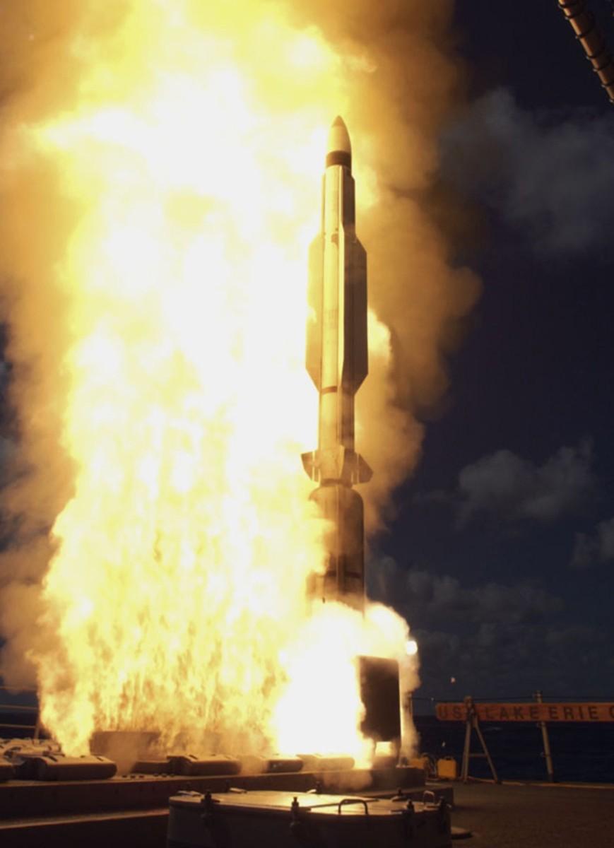 RIM-161 Standard Missile SM-3 AEGIS ABM