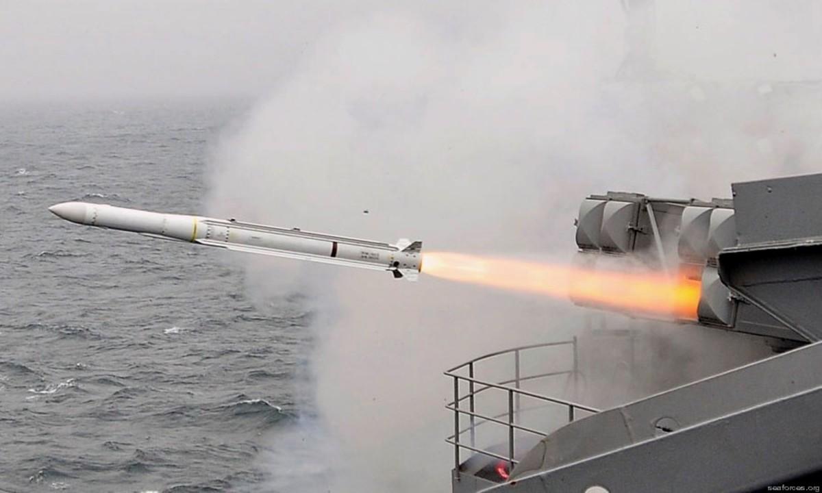 ผลการค้นหารูปภาพสำหรับ RIM-162 Evolved Sea Sparrow